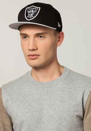OAKLAND RAIDERS - Cap - grey/black