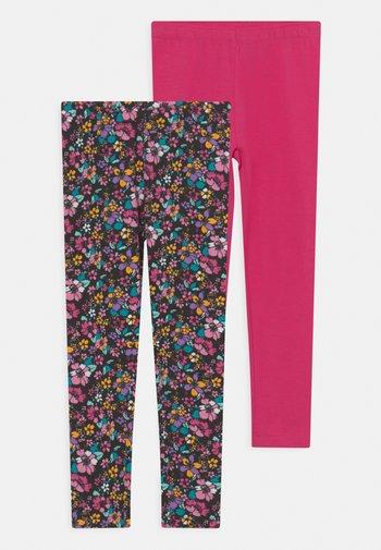 SMALL GIRLS 2 PACK  - Leggings - pink yarrow