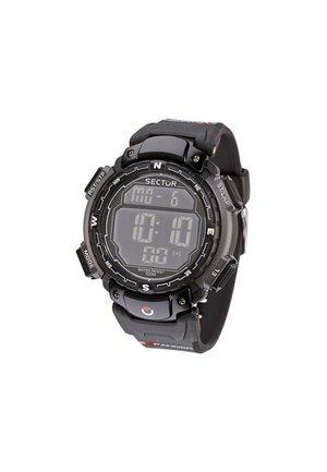 EXPANDER STREET - Digitaal horloge - schwarz