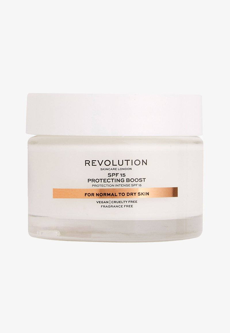 Revolution Skincare - MOISTURE CREAM SPF15 NORMAL TO DRY SKIN - Gesichtscreme - -