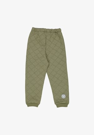 ALEX - Trousers - green melange