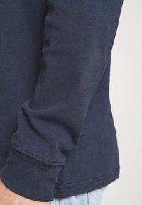 Tommy Jeans - TINY SCRIPT TEE - Maglietta a manica lunga - twilight navy - 4