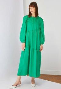 Trendyol - Maxi dress - green - 3