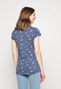 Ragwear - MINT CAMOMILE - Print T-shirt - indigo - 2