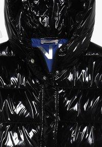 Pinko Up - NEGOZIANTE GLOSSY - Winter coat - black - 3