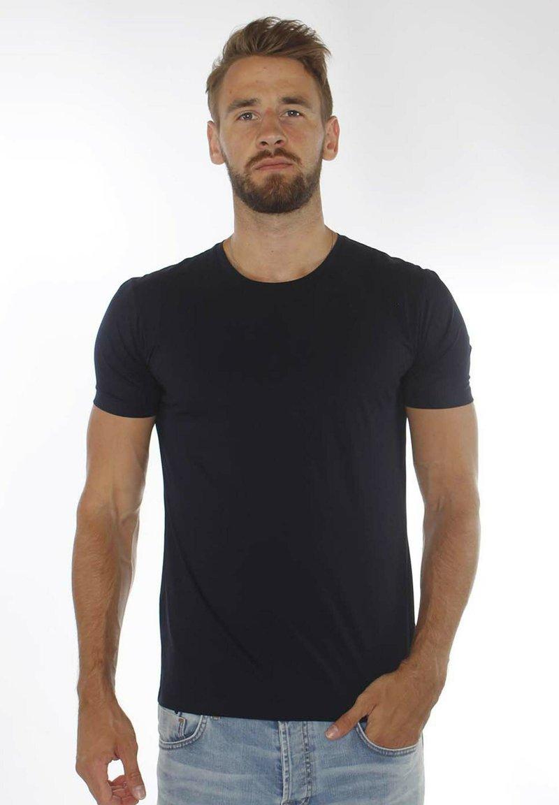 DRYKORN - CARLO  - Basic T-shirt - darkblue
