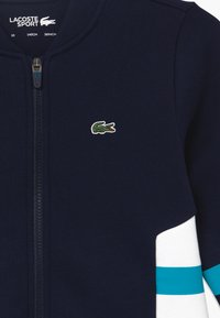 Lacoste - Zip-up hoodie - navy blue - 3