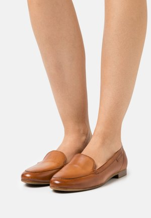 ANAMICA - Slippers - cognac