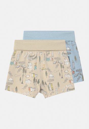 NBMHELGE 2 PACK - Shorts - cashmere blue