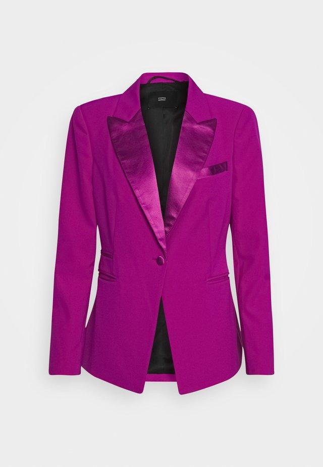 RED CARPET SMOKING - Blazer - funky purple