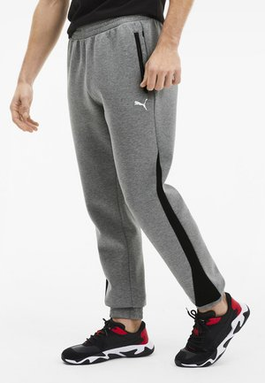 SCUDERIA FERRARI - Tracksuit bottoms - medium gray heather