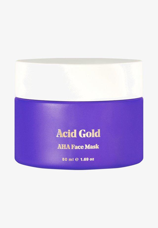 ACID GOLD - Face mask - -