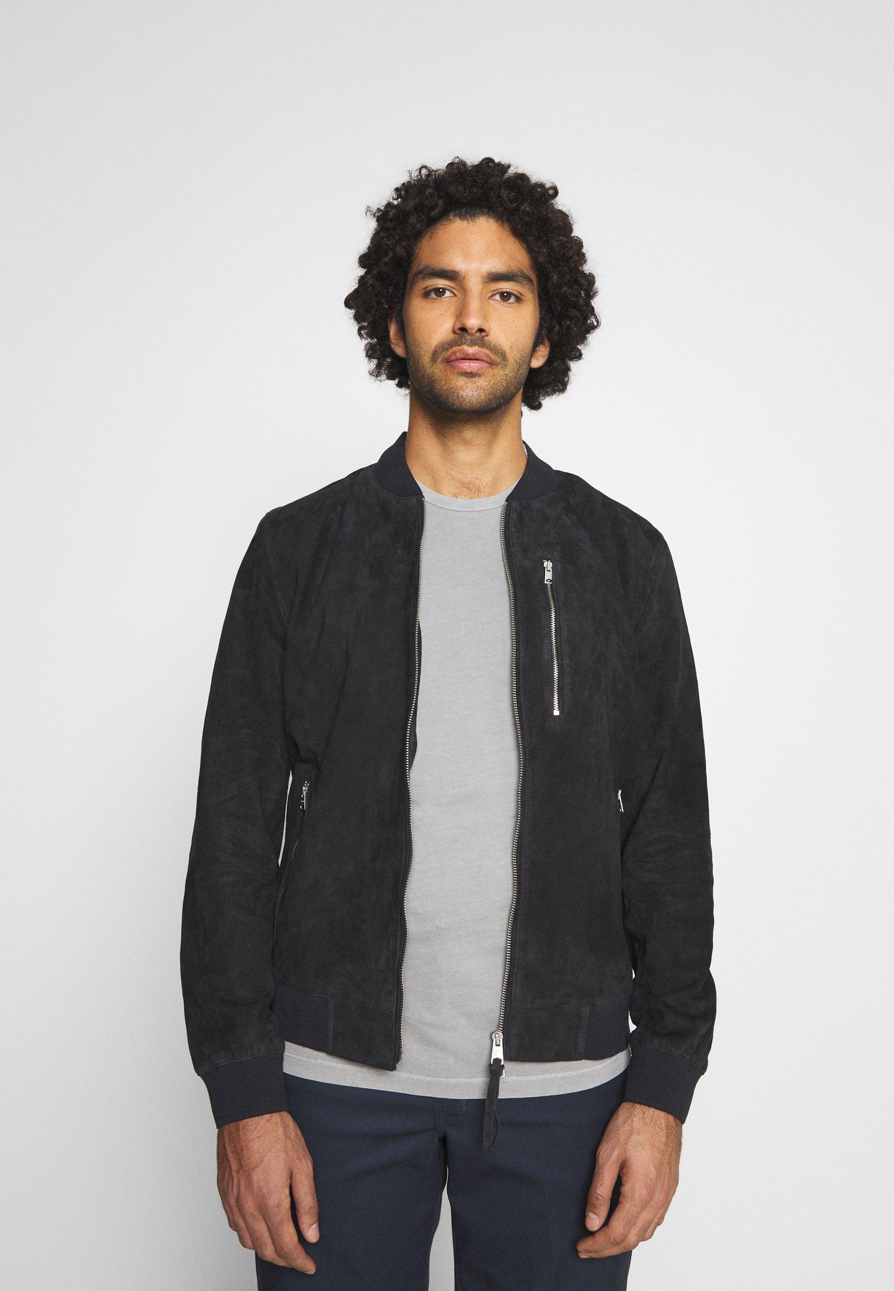 Men KEMBLE BOMBER - Leather jacket
