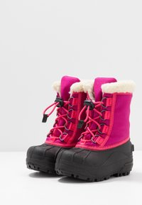 Sorel - YOUTH CUMBERLAND - Zimní obuv - deep blush - 3
