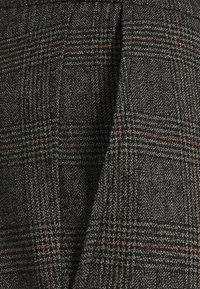 Only & Sons - ONSLINUS CROP CHECK PANTS - Trousers - grey melange - 6