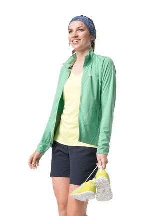 Fleece jacket - pacific green