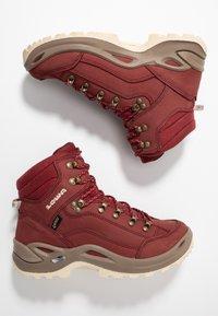 Lowa - RENEGADE GTX MID - Hiking shoes - cayenne - 1