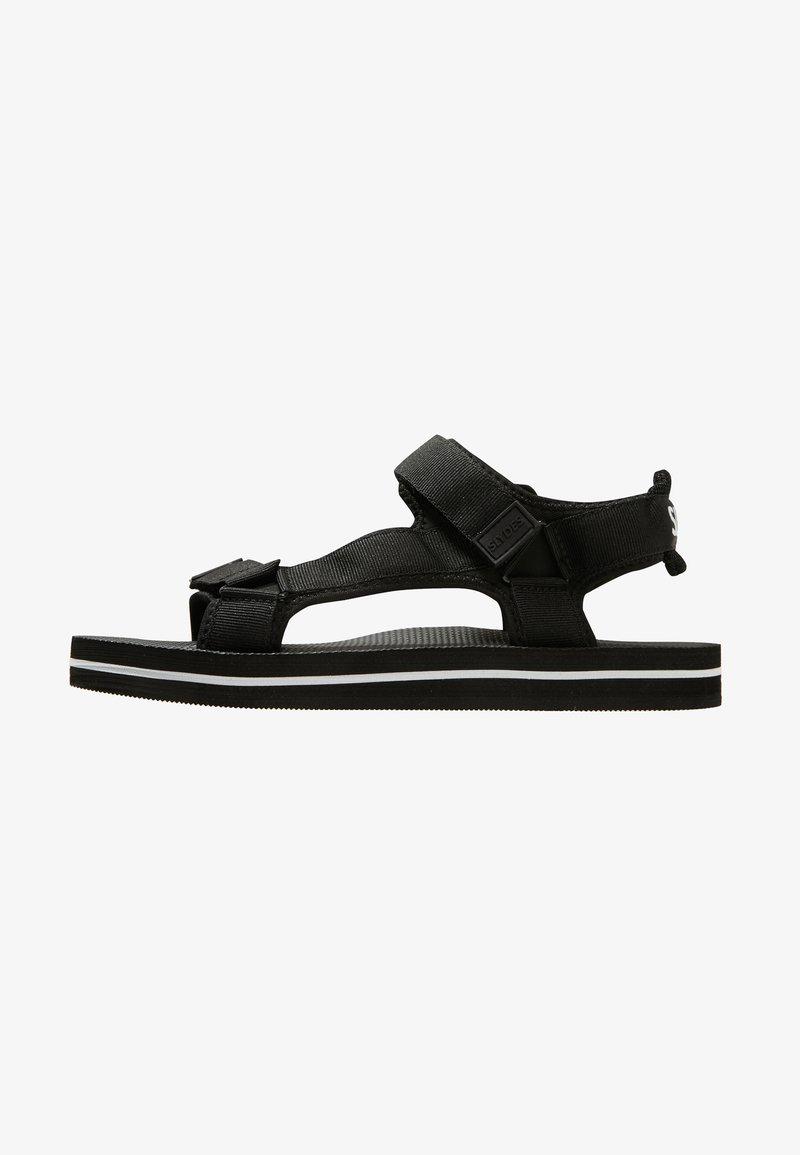 Slydes - NEVIS - Pantofle - black/white