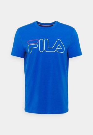 RICKI - Print T-shirt - blue iolite
