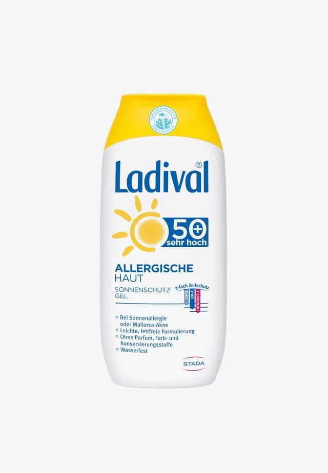 SONNENSCHUTZ ALLERGISCHE HAUT SONNENSCHUTZ GEL LSF 50+ - Sun protection - -