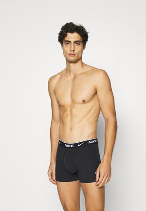 E-DAY COTTON STRETCH TRUNK 3PK - Onderbroeken - black