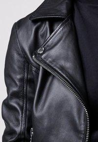 Tigha - Leather jacket - black - 4