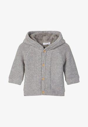 NBNNALIX  BABY UNISEX - Jas - grey melange