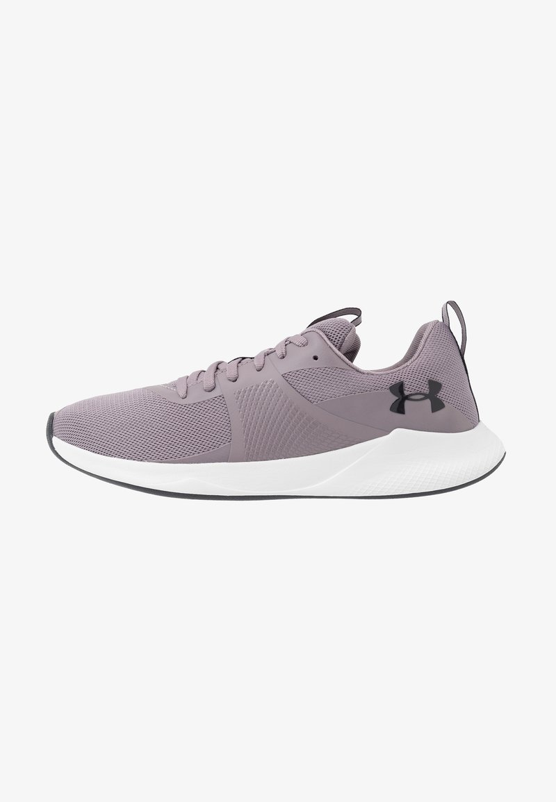 Under Armour - CHARGED AURORA - Trainings-/Fitnessschuh - slate purple/white/blackout purple