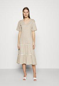 Selected Femme - SLFREED DRESS - Jersey dress - kelp - 0