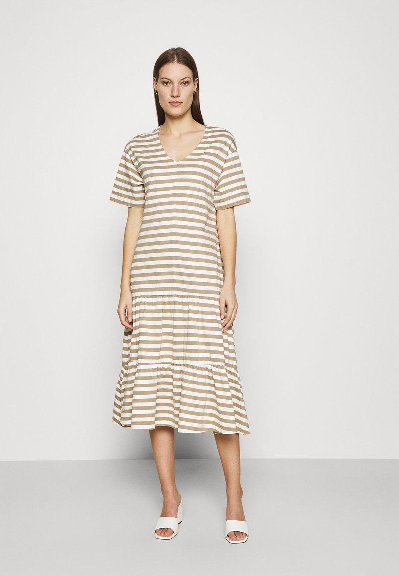 Selected Femme - SLFREED DRESS - Jersey dress - kelp
