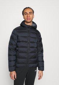 Champion - HOODED JACKET - Winter jacket - black - 0