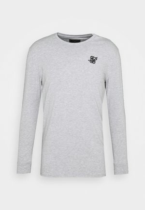 LONG SLEEVE GYM TEE - Long sleeved top - grey marl