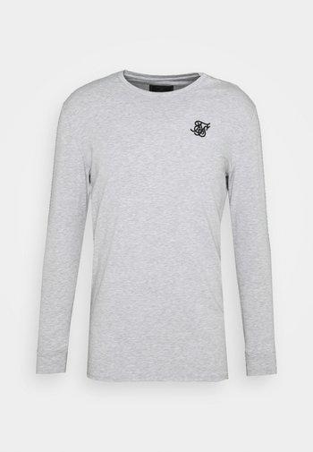 LONG SLEEVE GYM TEE - Maglietta a manica lunga - grey marl