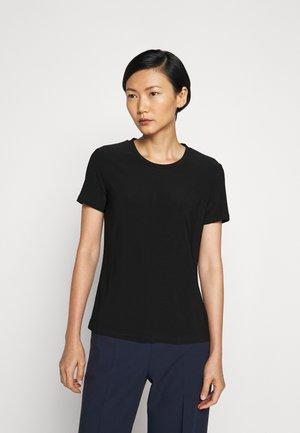 VALETTE - Basic T-shirt - schwarz