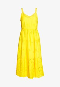 Rich & Royal - DRESS WITH EMROIDERY ANGLAISE - Day dress - spring gold - 0