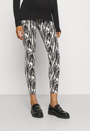 MLSEBRA - Leggings - Trousers - sandshell/black