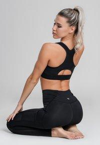 Zoe Leggings - ECLIPSE  - Urheiluliivit - black - 3