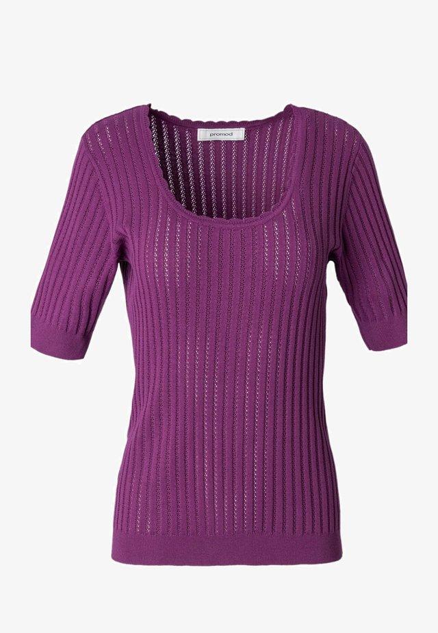 T-shirt imprimé - violet
