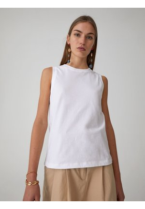 JANET - Topper - white