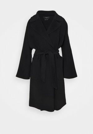 ROVO - Klasický kabát - black