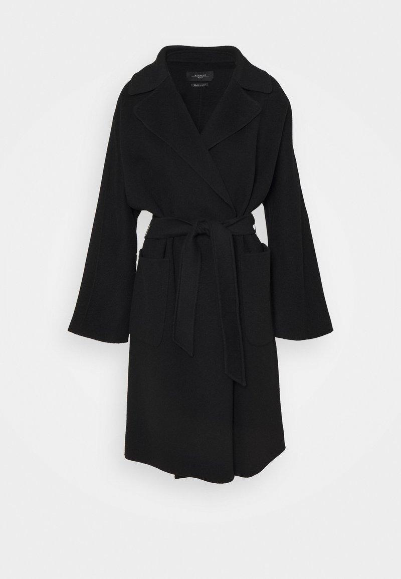 WEEKEND MaxMara - ROVO - Klasický kabát - black