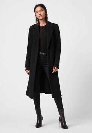 WADE COAT - Płaszcz wełniany /Płaszcz klasyczny - black