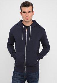 Superdry - Zip-up hoodie - american navy - 0