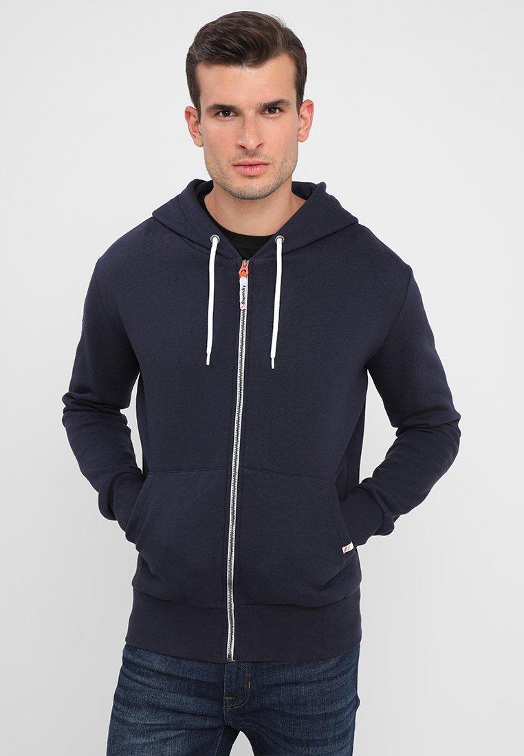 Superdry - Zip-up hoodie - american navy