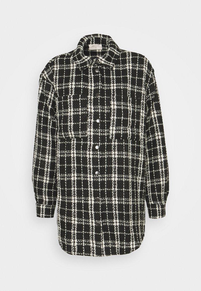 Freequent - DECA - Short coat - black