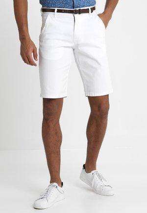 CLASSIC  BELT - Shorts - white