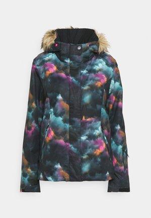 JET - Snowboard jacket - true black/pensine