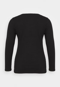 Forever New Curve - BRENNA SQUARE NECK  - Long sleeved top - black - 1