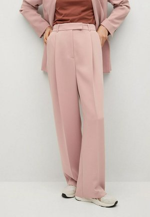 Trousers - pastelroze