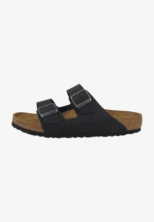ARIZONA SOFT FOOTBED UNISEX - Slippers - black